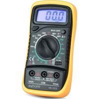 Multímetro Digital Exbom Md-200L Amarelo