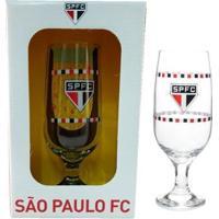 Taça De Cerveja Do São Paulo 300 Ml Em Caixa Personalizada - Unissex