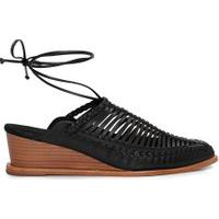 Sapato Feminino Tressê - Preto