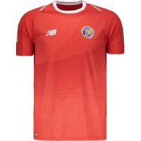 Camisa New Balance Costa Rica Home 2019 Patch