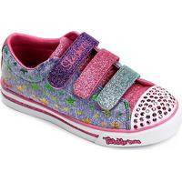 9fa7f812e ... Tênis Infantil Skechers Sparkle Glitz Starry Party Feminino -  Feminino-Azul