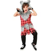 Fantasia De Lobo Mau Chapeuzinho Vermelho Halloween Infantil