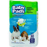 Tapete Higiênico Para Cães Baby Pads Com 30 Unidades