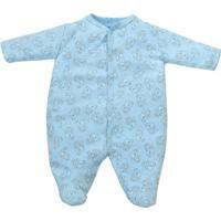 Macacão Longo Bebê Tilly Baby Ursinhos - Masculino