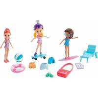 Boneca Polly Pocket E Amigas Aquáticas Malucas Mattel