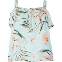 Blusa Ciganinha Almaria Plus Size Peri Estampada A