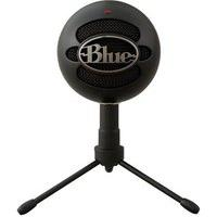 Microfone Condensador Usb Blue Snowball Ice Preto - 988-000067