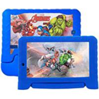 Tablet Multilaser Disney Vingadores Plus Azul Com 7, Wi-Fi, Android, Processador Quad-Core 1,2Ghz E 16Gb