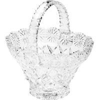 Cesta Diamond- Cristal- 18,5X17X13,5Cm- Lyorlyor