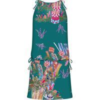 Vestido Com Alça Estampado Festival Japones - Lez A Lez