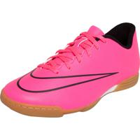 1a6c0185ae Chuteira Nike Jr. Mercurial Vortex Ii Ic Rosa