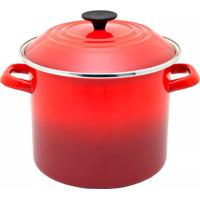 Caldeirão Esmaltado Stock Pot Le Creuset Vermelho 22 Cm - 101411