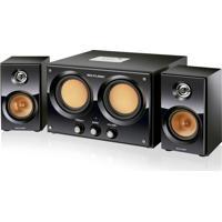 Caixa De Som 2.2 30W Rms Mp3 Double Bass Usb/Sd/Fm Bivolt - Sp118