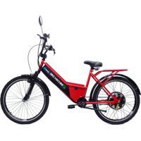 Bicicleta Elétrica Machine Motors Basic 800W 48V Vermelho