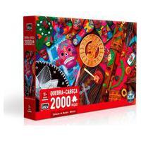 Quebra-Cabeça Culturas Do Mundo México 2000 Peças - Toyster