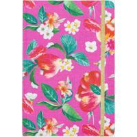 Caderno Com Estampa Floral