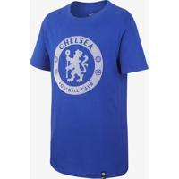 0eb46485af ... Camiseta Nike Chelsea Crest Infantil