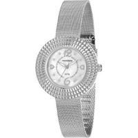 Relógio Mondaine 99218L0Mvne2 Feminino - Feminino-Prata