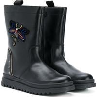 Geox Kids Ankle Boot 'Butterfly' - Preto