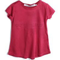 Blusa Calvin Klein Kids Menino Estampa Vermelha
