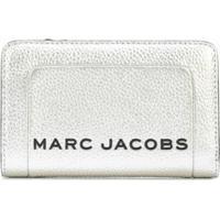 Marc Jacobs Carteira Metálica - Prateado