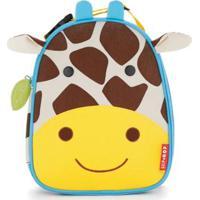 Lancheira Infantil Skip Hop Zoo Girafa - Unissex-Amarelo