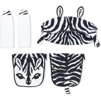 Dolce & Gabbana Kids Bolsa Maternidade Animal Print - Preto