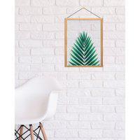 Amaro Feminino Design Up Living Quadro Decorativo Vidro Impresso 32X42, Palmeira