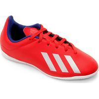 f059491b8c2fc Netshoes; Chuteira Futsal Infantil Adidas X Tango 18.4 In - Masculino