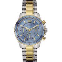 Relógio Guess Feminino Aço Prateado E Dourado - W0639L1