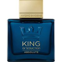Antonio Banderas King Of Seduction Absolute Eau De Toilette 100Ml - Incolor - Dafiti
