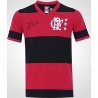 Camisa Flamengo Zico Retrô Libertadores Masculina - Masculino