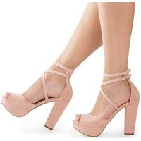Sandália Modarpe Meia Pata Rosa M11