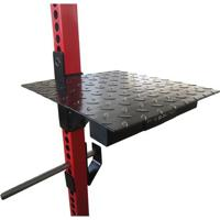 Stepper Ajustável Proaction Power Rack - Unissex-Preto