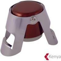 Tampa Para Garrafa De Champagne Em Metal Vermelha Wine Collection - Kenya