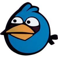 Antivibrador Angry Birds Preto - Bomb - Unissex