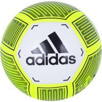 Bola De Futebol De Campo Adidas Starlancer Vi - Branco/Preto
