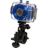 Câmera Filmadora Vivitar De Ação Hd Com Caixa Estanque E Acessórios Dvr785Hd Azul