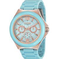 a8e04ac8013d0 Relógio Analógico Azul - MuccaShop