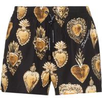 Dolce & Gabbana Sunga Cuore - Preto