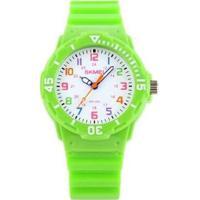 Relógio Infantil Skmei Analógico Masculino - Masculino-Verde