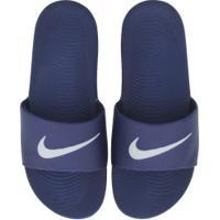 Chinelo Nike Kawa - Slide - Masculino - Azul Esc/Branco