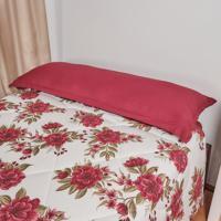 Travesseiro De Corpo Com Capa Trevalla Algodão 180 Fios 50X195Cm