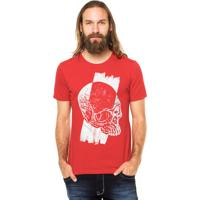Camiseta Rgx Runned Over Vermelho