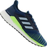 4a76e44ce5 Netshoes; Tênis Adidas Solar Glide Boost - Masculino - Azul Esc/Cinza Cla