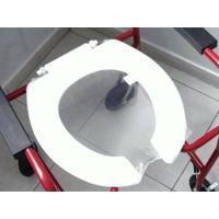 Assento Sanitário Aberto Para Cadeira De Rodas De Banho Log