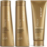 Joico Shampoo K-Pak To Repair Damage 300Ml+Condicionador+Mascara 250Ml,