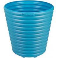 Vaso Para Flores Cachepo 5,5 Litros Azul Tramontina