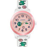 Relógio Lacoste Infantil Borracha Branca - 2030031