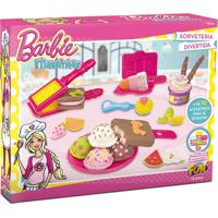 Barbie Massinha Sorveteria Divertida - Fun Divirta-Se - Tricae